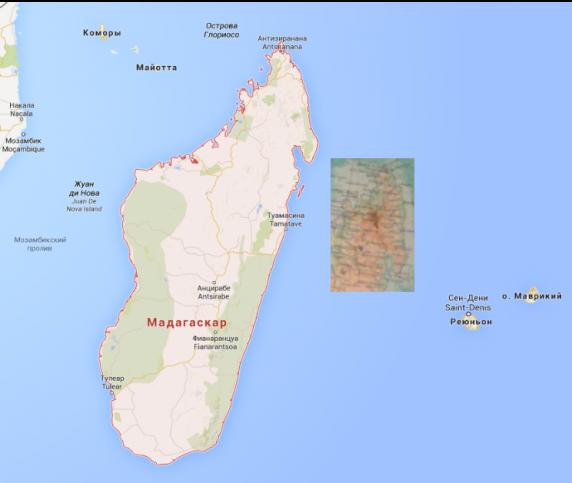 Мадагаскар и окрестности