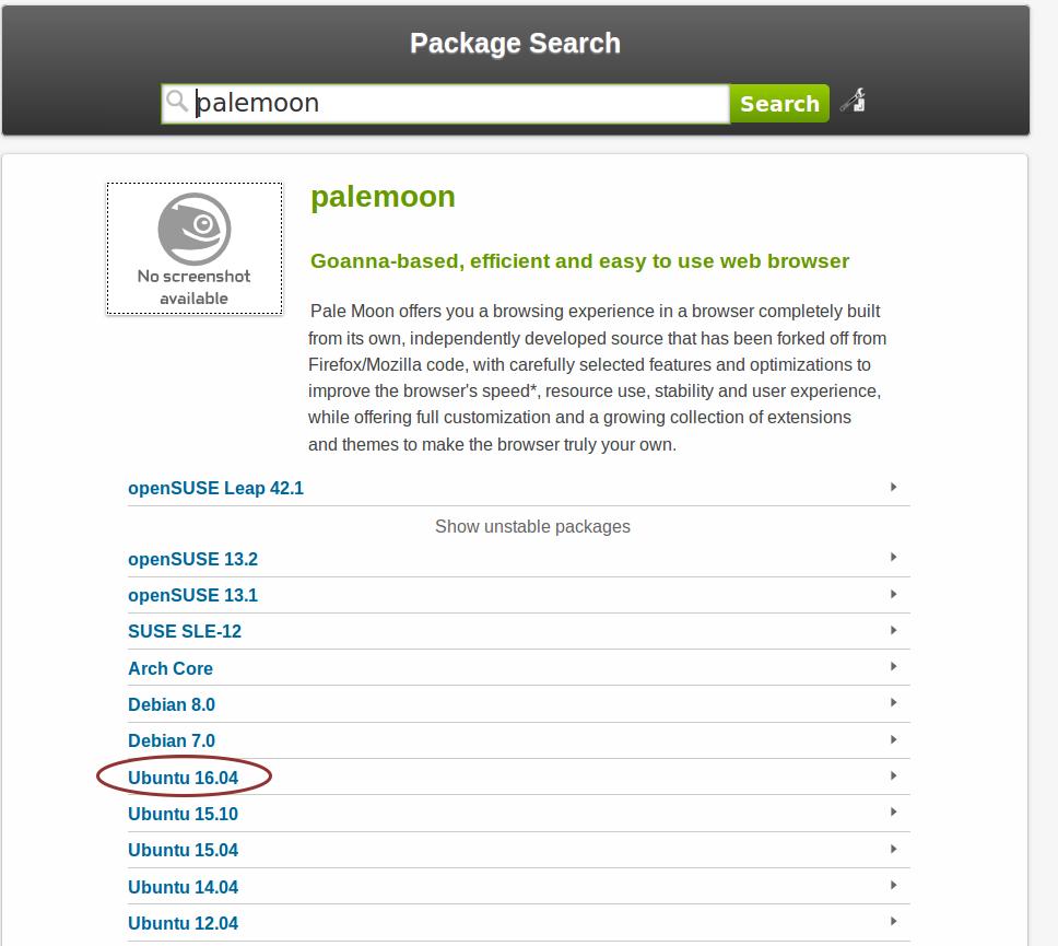 Система OBS: поиск «чужих» пакетов — Наш Блогосайт: Linux и «лирика»